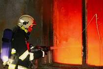 Požár v Neředíně