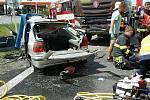 Tragická nehoda na I46 u Bohuňovic