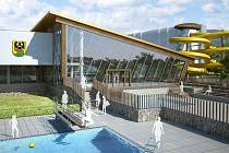 Návrh podoby Regionálního wellness centra Jeseník od společnosti Centroprojekt