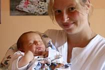 Antonín Malý, Charváty  narozen 24. srpna v Olomouci  míra 53 cm, váha 3870 g
