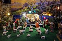 Betlém v kostele na Nových Sadech