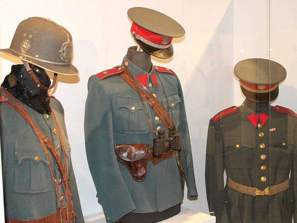 Expozice Omoravských zločinech a trestech ve Vlastivědném muzeu vOlomouci