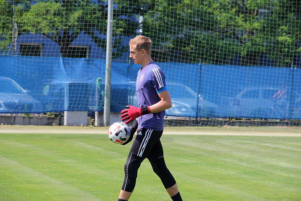 Fotbalová Sigma Olomouc zahájila přípravu na novou sezonu.Tadeáš Stoppen