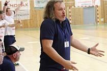 Trenér Litovle Ivo Vávra.