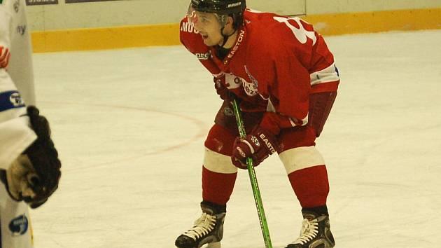Olomoucký centr Jakub Čuřík hodil nepovedenou sezonu 2006/07 za hlavu a doufá v návrat Kohoutů na vyšší příčky.