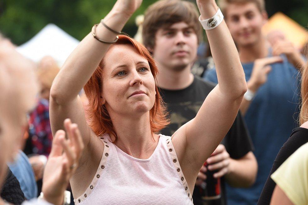 Na slavná léta festivalu Rock for People zavzpomínali vsobotu vareálu českobrodského stadionu Na Kutilce, kam se alespoň na jeden den opět vrátilo festivalové dění.
