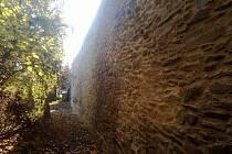 Litovelské hradby po opravě