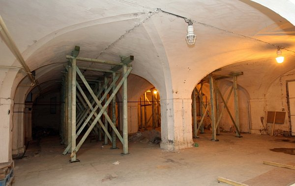 Prostory bývalého měšťanského pivovaru vcentru Olomouce