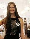 Natálie Kučerová, Gymnázium Šumperk. Představení finalistek Miss OK 2016 v Beauty Café v Olomouci