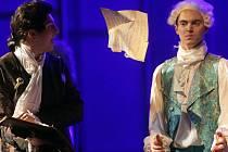 Drama Amadeus režiséra Michaela Taranta v Moravském divadle Olomouc