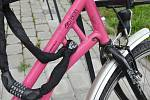 Bikesharing - Růžová kola v Olomouci, 6. 5. 2019