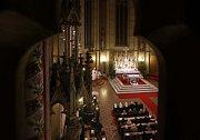Půlnoční mše v katedrále sv. Václava v Olomouci