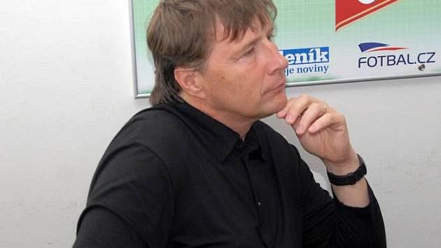 Trenér juniorky Sigmy Augustin Chromý