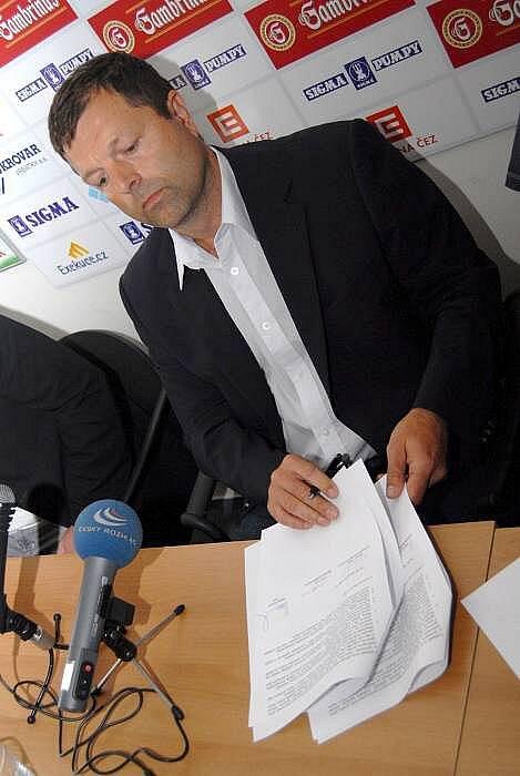 Předseda představenstva SK Sigma Josef Lébr