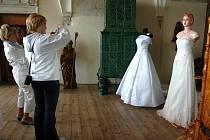 Svatební veletrh na šternberském hradě