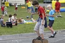 Děti na příměstském táboře.