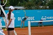 Magdalena Pantůčková v zápase 1. kola ITS CUPu.