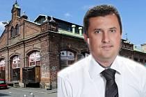 Majitel budovy olomoucké tržnice podnikatel Pavel Široký. Koláž: DENÍK