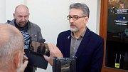 Tiskový brífink lídra ANO Miroslava Žbánka po jednáních o radniční koalici v Olomouci