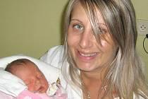 Nella Melicharová, Horka nad Moravou, narozena 18. srpna v Olomouci, míra 50 cm, váha 3550 g