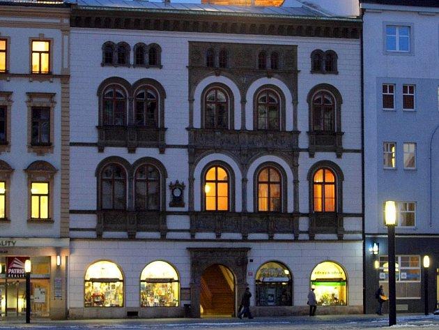 Edelmannův palác na Horním náměstí v Olomouci