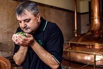 Sládek pivovaru Holba Luděk Reichl