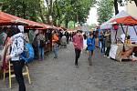 Multižánrový festival Michalský výpad v centru Olomouce