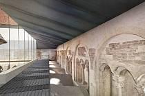 Vizualizace románského Zdíkova paláce v Olomouci po rekonstrukci