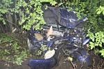 Nehoda fordu se čtyřmi zraněnými u Moravského Berouna - 20. května 2021