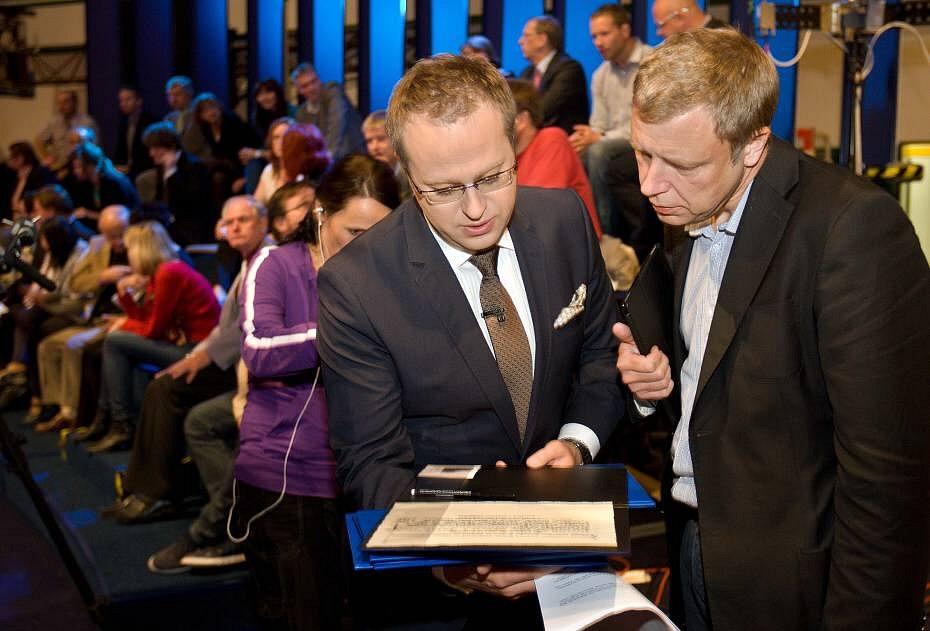Otázky Václava Moravce s lídry stran pro krajské volby v Olomouci