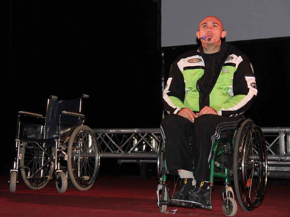 The Action New Generation v olomouckém kině Metropol - preventivní pořad o následcích dopravních nehod