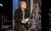 Miroslav Krobot. Předávání Cen Olomouckého kraje za přínos v oblasti kultury 2017 v Městském divadle v Prostějově