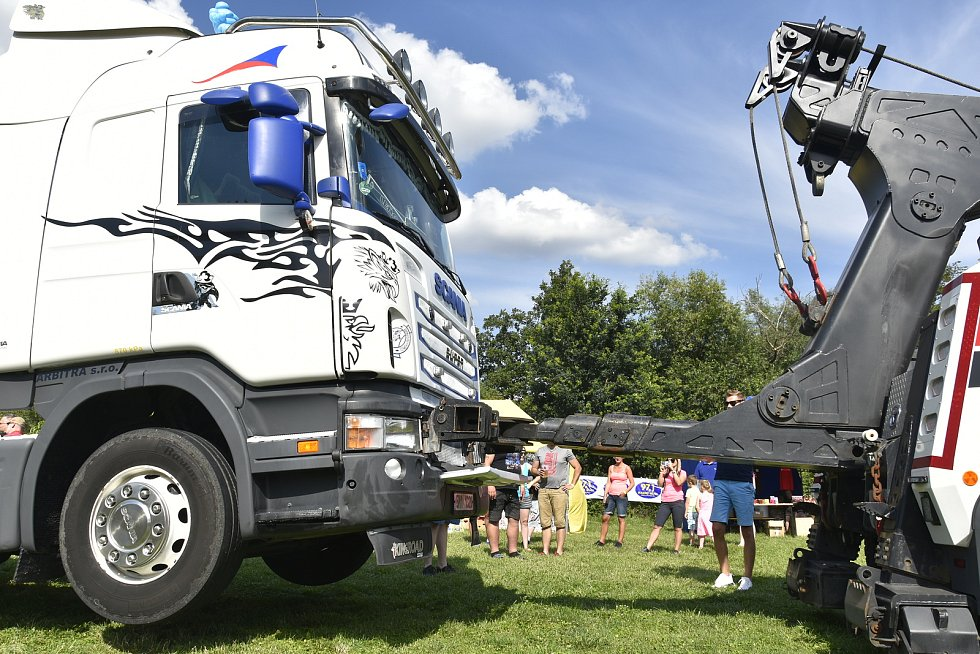 Truck and Van Show 2020 v olomouckém kempu Krásná Morava, 25. 7. 2020
