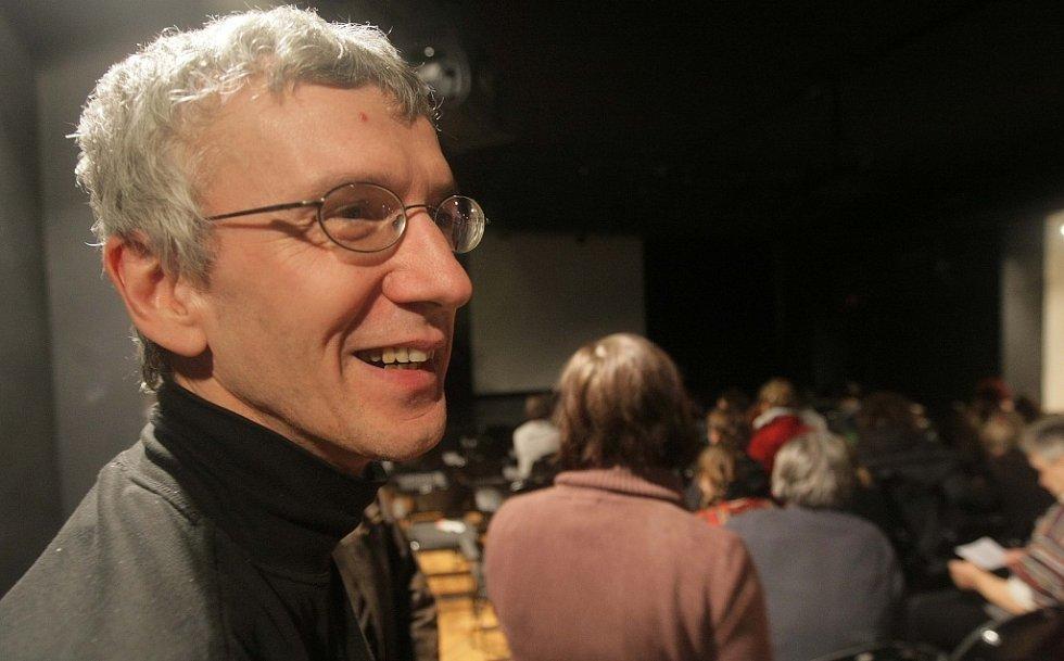 Olomoucký výtvarník Havlík slavil padesátiny výstavou