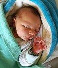 Matyáš Palánek, Hněvotín, narozen 29. května, míra 51 cm, váha 3720 g