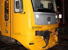 Nehoda na železničním přejezdu v Palackého ulici v Olomouci. 28. 10. 2018