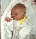 Ella Hanáčková, Lomnice, narozena 20. prosince ve Šternberku, míra 48 cm, váha 3040 g