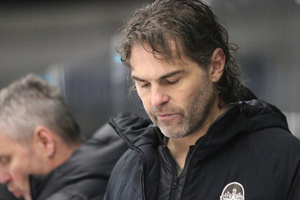 Jaromír Jágr. Kladno hostilo v hokejové extralize Olomouc