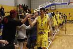 BK Olomoucko porazilo v domácím zápase nadstavbové skupiny A1 Brno 96:66.