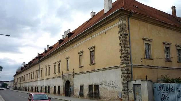 Staroměstská kasárna ve Studentské ulici  Olomouci