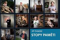 Přebal knihy olomouckého fotografa Jiřího Doležela Stopy paměti