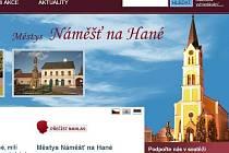 Web Náměště na Hané