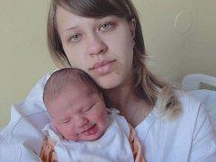 Kristýna Eliášová, Nová Ves, narozena 2. října v Olomouci, míra 51 cm, váha 3340 g