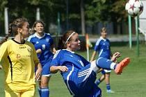1. FC Olomouc – Kobuszowa Dolna. Women's Cup ve Chválkovicích