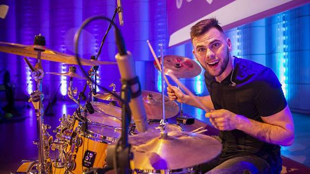 Hokejista Jakub Herman vyniká i jako bubeník.