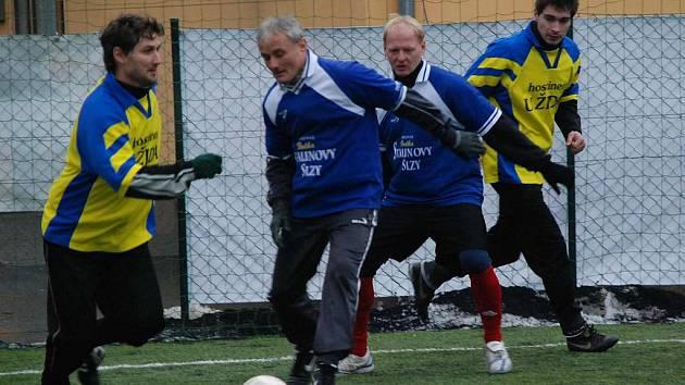 Zimní futsalová liga - KSN Nový svět vs. Masajově B