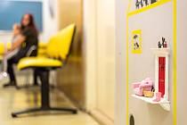 Dvířka pro Zoubkovou vílu na dětském oddělení zubní kliniky v Olomouci