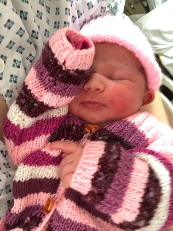 Prvním miminkem, které přišlo na svět na Nový rok v Olomouckém kraji, je Natálka. Narodila se dvanáct minut po půlnoci v olomoucké Fakultní nemocnici třiadvacetileté mamince Nikol Dreslerové.