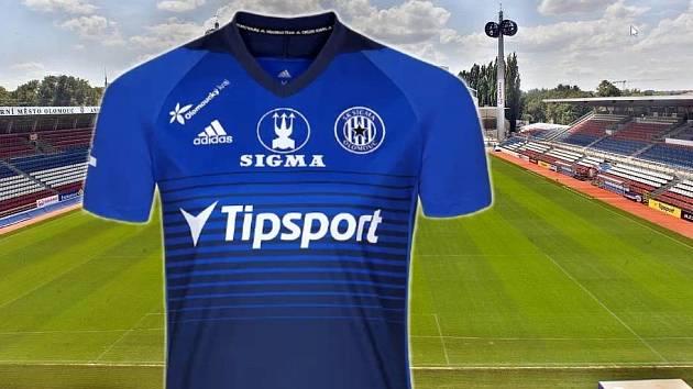 Olomoucká Sigma představila nový dres pro jarní sezonu s logem nového partnera