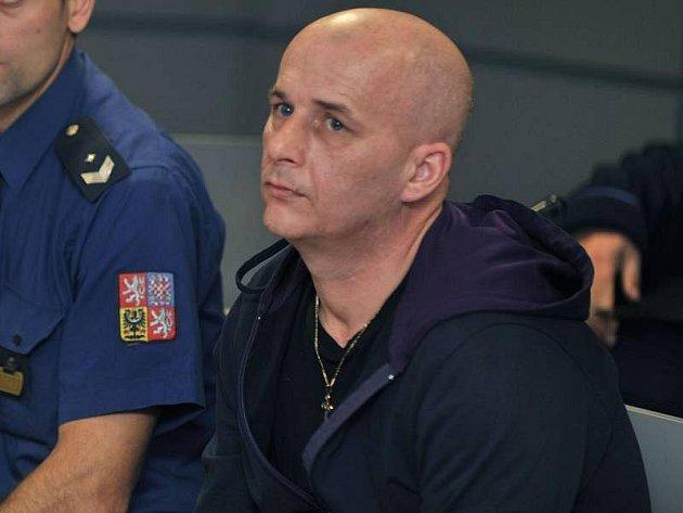 Petr Venský u krajského soudu v Olomouci